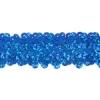 Sequin Stretch 3-row Hologram royal